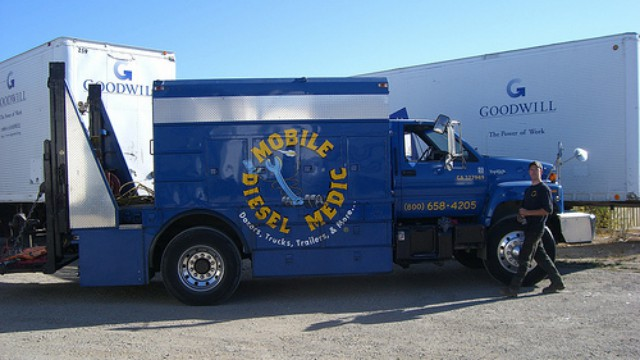 Brentwood mobile diesel repair photo